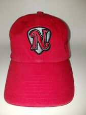 Nashville Sounds Adjustable Hat/Cap By 47 Brand. Red Pick Logo MiLB.