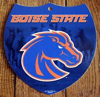 Licensed NCAA Plastic Sign Boise State University Broncos Interstate Sign