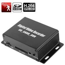 SD-DVR 1-CH Mini Digital Video Recorder con Motion e supporto sd