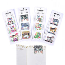 3Pcs/Pack Cats Magnet Bookmark Paper Clip School Office Supply Gift StationeryHG