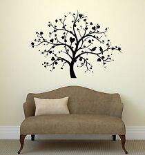 Wall Decal Tree Love Birds Romance Bedroom Decor Vinyl Stickers (ig2934)