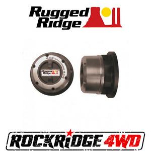 Manual Locking Hubs Rugged Ridge Suzuki Samurai Sierra 82-94 Sidekick Vitara Geo
