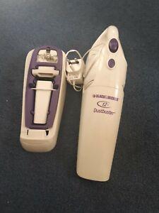 Black+Decker Dustbuster V1250 White/purple Bagless Handled Vacuum Cleaner