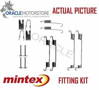 NEW MINTEX REAR BRAKE SHOES SET FITTING KIT PIN SPRINGS GENUINE QUALITY MBA797