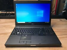 Dell Precision M4800 / i7-4810MQ 2.80Ghz / 8GB RAM / 500GB HDD / Win 10 Pro