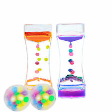 Sensory Toy Kit Gifts for Autistic Children Squeeze Balls Liquid Motion Timers