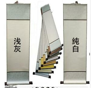 Rice Paper Xuan Chinese Scroll Blank Hanging Drawing for Painting  Calligraphy