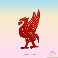 Liverpool Bird Liver bird  Embroidered Iron On Patch Sew On Badge For Clothes