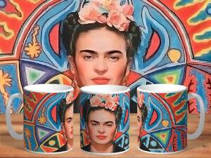 Tasse Cup Mug Becher Aquarelle Paintings collection Frida Kahlo FAN new2020 v65