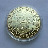 US Apollo 11 Moon Landing Commemorative Coin 50th Anniversary Year 1969-2019 USA