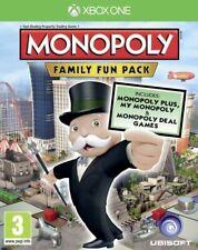 Monopoly Family Fun Pack Xbox One * Neu Versiegelt PAL *