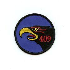 RCAF CAF Canadian 409 Squadron Hawk Colour Crest Patch