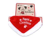 Christmas Festive Dog Cat Pet Bandana Collar Neckerchief Grooming Clothes Scarf