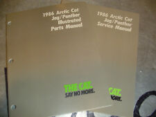 1986 Arctic Cat Jag Panther Service AND Parts manuals