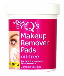 Andrea Eye Q's Oil-Free Makeup Remover Pads 65 Ct