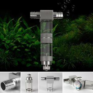 External Aquarium CO2 Atomizer Plants Tank Bubble Diffuser UP Design 12/16mm
