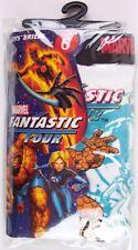 NIP Hanes Marvel Fantastic Four 100% Cotton Boy's Briefs, 3 Pack, Size 4 or 6