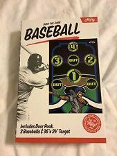 Indoor Baseball Game ~ Nifty Target Baseball Game Over Door ~ Sports Gift