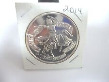 2014 Mardi Gras Knights Of Momus .999 Fine Silver Doubloon