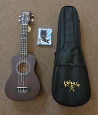 New Kohala KPPS Soprano Ukulele Player Pack w/Gigbag and Tuner