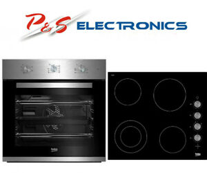 Brand new Beko Built-in Electric Oven & Ceramic Cooktop Pack_ BCPCCF1