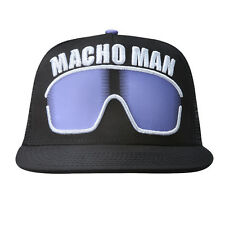 New WWE Macho Man Randy Savage Sunglass WWF Trucker Snapback Cap Hat