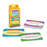 Bible Trivia Flash Card Game - Christian Learning - Age 6+ - Classroom/Home Use