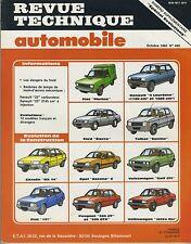 (35A)  REVUE TECHNIQUE AUTO : BX/FIAT 127/SIERRA/ASCONA/305/R5/SAMBA/GOLF etc