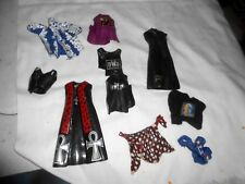 WWE MATTEL WRESSTLING  FIGURE CLOTHES LOT SEE PICS FOR ACTION FIGURES
