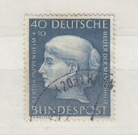 Germany 1954 40 & 10pf SG1129 VFU J7949