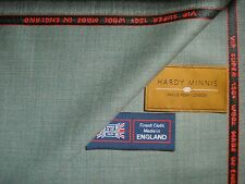 SUPER 150's WOOL<HARDY MINNIS>.SUITING FABRIC Made In Huddersfield England-3.4 m