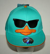 Disney Phineas Ferb Perry in Sunglasses Baseball Snap back Hat Cap New Tags OSFM