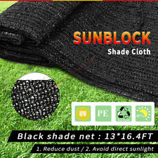 UV Sunblock Shade Cloth Net Cover Mesh Pool Garden Plant Greenhouse Outdoor
