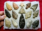AUTHENTIC INDIAN  Arrowheads / LOT 1.