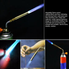 Flamethrower Burner Butane Gas Blow Torch Hand Ignition Camping Welding BBQ DH