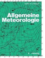 Allgemeine Meteorologie by Gosta H. Liljequist (1974, Paperback)