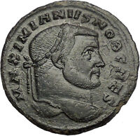 Galerius as Caesar  303AD Large Carthage mint Rare Ancient Roman Coin i46704