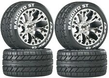 Duratrax Mounted Bandito ST Street Tires Wheels (4) Stampede 4WD Savage XS Flux