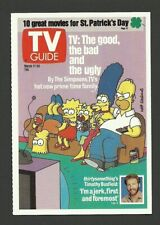The Simpsons Cartoon TV Guide Collector Card