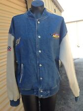 Spam Racing Mike Wallace #91 Denim Jacket ID Sports adult size medium