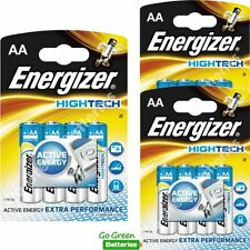 12 x Energizer AA Alkaline High Tech Batteries - HiTech LR6 MX1500 MN1500 MIGNON