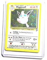 WIGGLYTUFF - BASE SET 2 - 19/130 - Holo Rare - Pokemon Card - EXC/NM