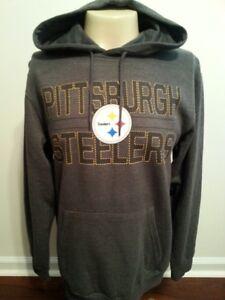 PITTSBURGH STEELERS Hooded Pullover Adult Medium Mens New (M)  Steelers NFL