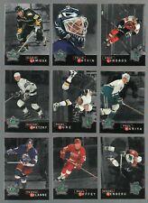 1995-96 Parkhurst Crown Collection Silver Series 1 Set of 16 GRETZKY-LEMIEUX NM