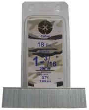 CoFast 18 Ga 1-3/16 inch Straight Finish Brad Nails fit Most 18 Ga Nailers 2M