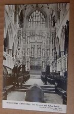 Postcard Winchester Cathedral Rufus Tomb Real photo Unposted