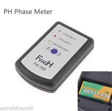 Mini Portable Vehicles Audio Speaker Polarity Tester PH Phase Meter Phasemeter