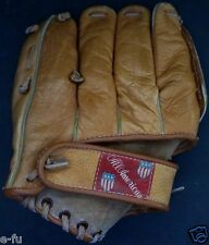 """Vintage ALL AMERICAN AA 75 Professional Model 9"""" Right Handed Baseball Glove"""