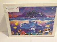 Fanciful world - 1000 piece Jigsaw Puzzle-  Ocean Dolphin