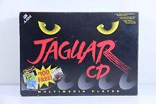 Atari Jaguar CD Schwarz Konsole (NTSC)